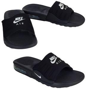 NWB Nike air max Camden slide sandals black white